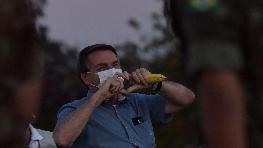 El presidente de Brasil, Jair Bolsonaro, tiene moho en el pulmón tras haber superado el coronavirus