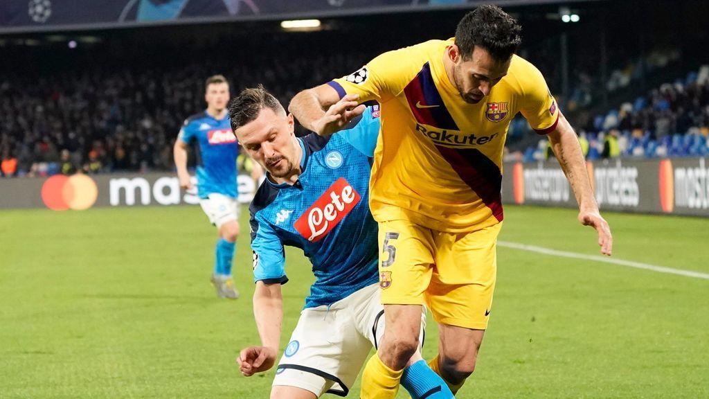 La UEFA da luz verde para que el Barça-Nápoles se juegue en el Camp Nou