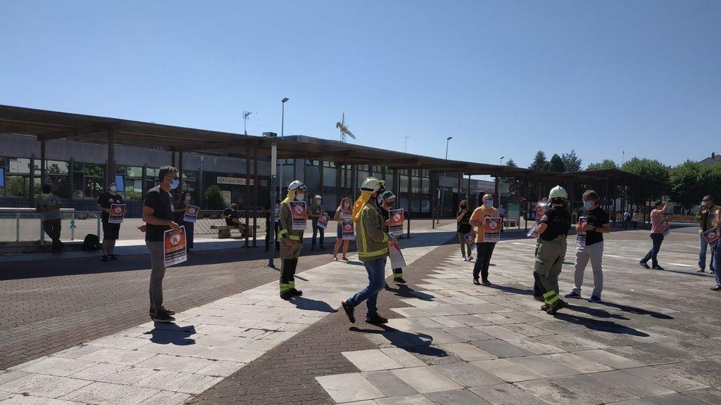 Técnicos de prevención de incendios forestales inician una huelga indefinida ante la falta de mejoras laborales
