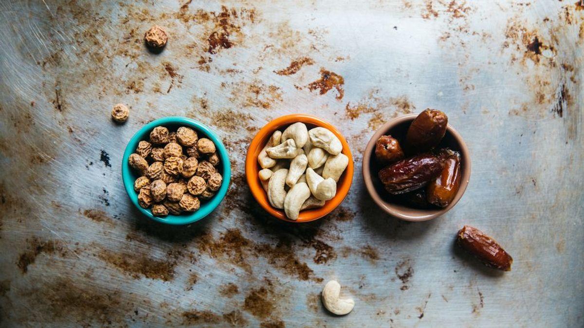Los beneficios de los frutos secos durante el embarazo