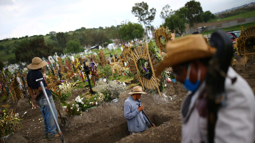 México se sitúa como el tercer país con más fallecidos por coronavirus tras superar a Reino Unido