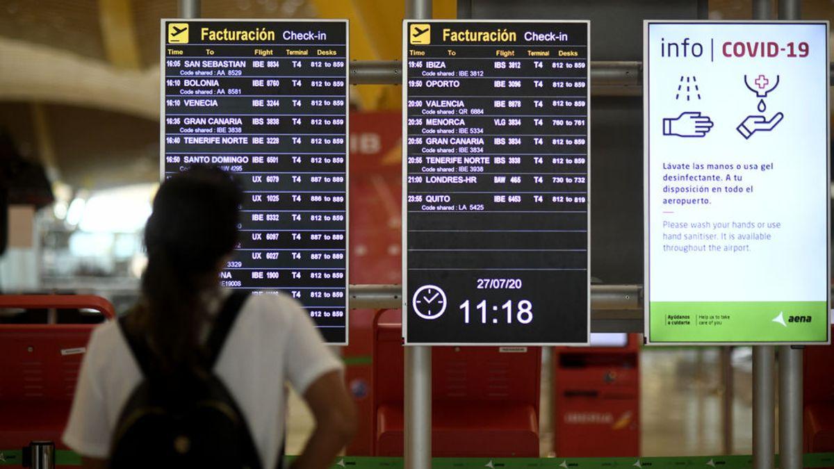La Comunidad de Madrid detecta 89 casos importados de Covid-19 desde el levantamiento del estado de alarma