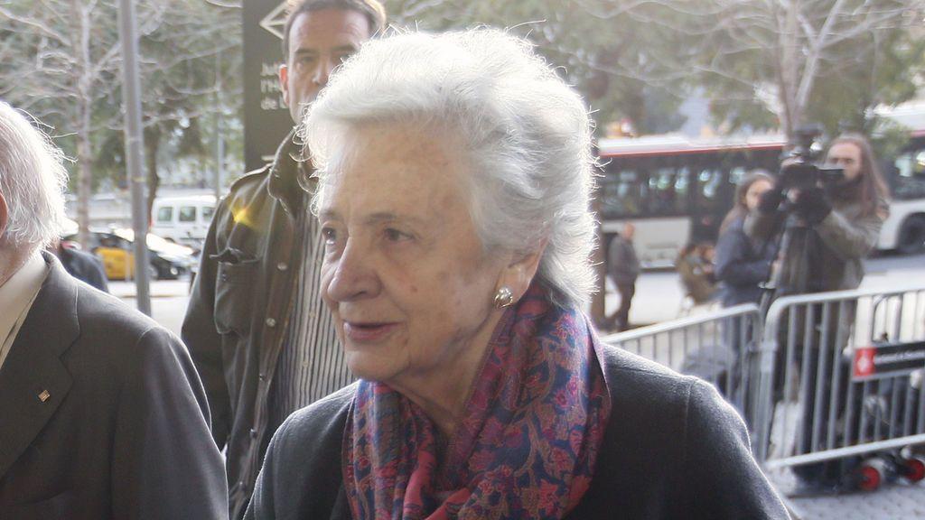Marta Ferrusola, ingresada en Vall d'Hebron al sufrir un accidente