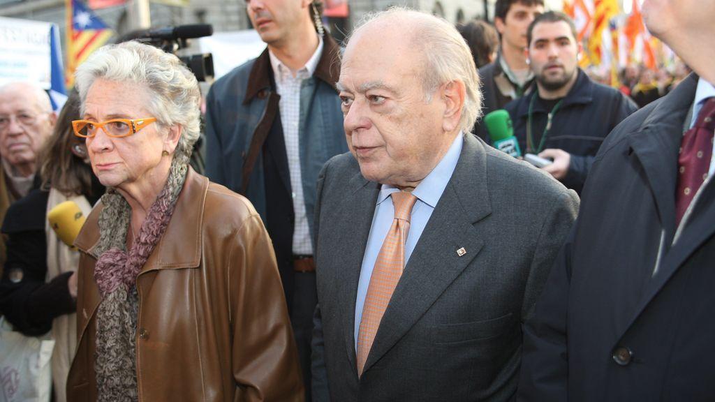 Marta Ferrusola operada de urgencia tras sufrir un accidente doméstico