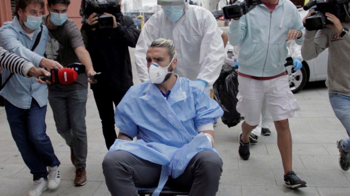 El futbolista del Fuenlabrada Chico Flores plasma en una carta la dureza del coronavirus
