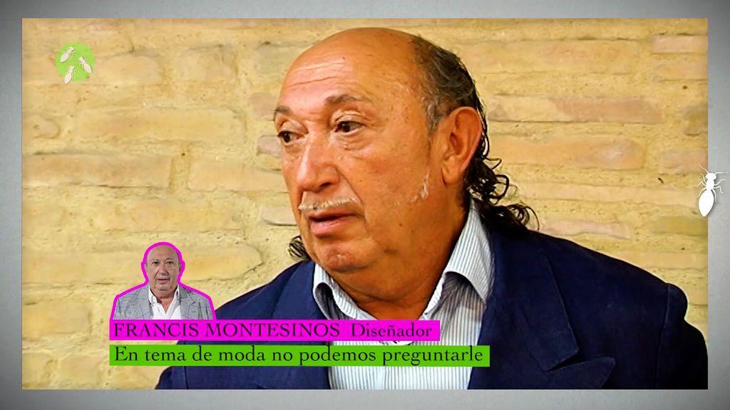 Francis Montesinos habla de la falda de Miguel Bosé