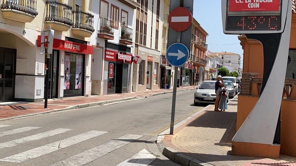 El Valle del Guadalhorce en Málaga en alerta roja por calor