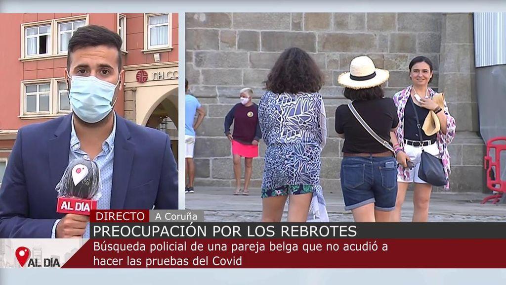 Buscan en A Coruña a una pareja belga que no se presentó a una PCR : podrían ser portadores del virus