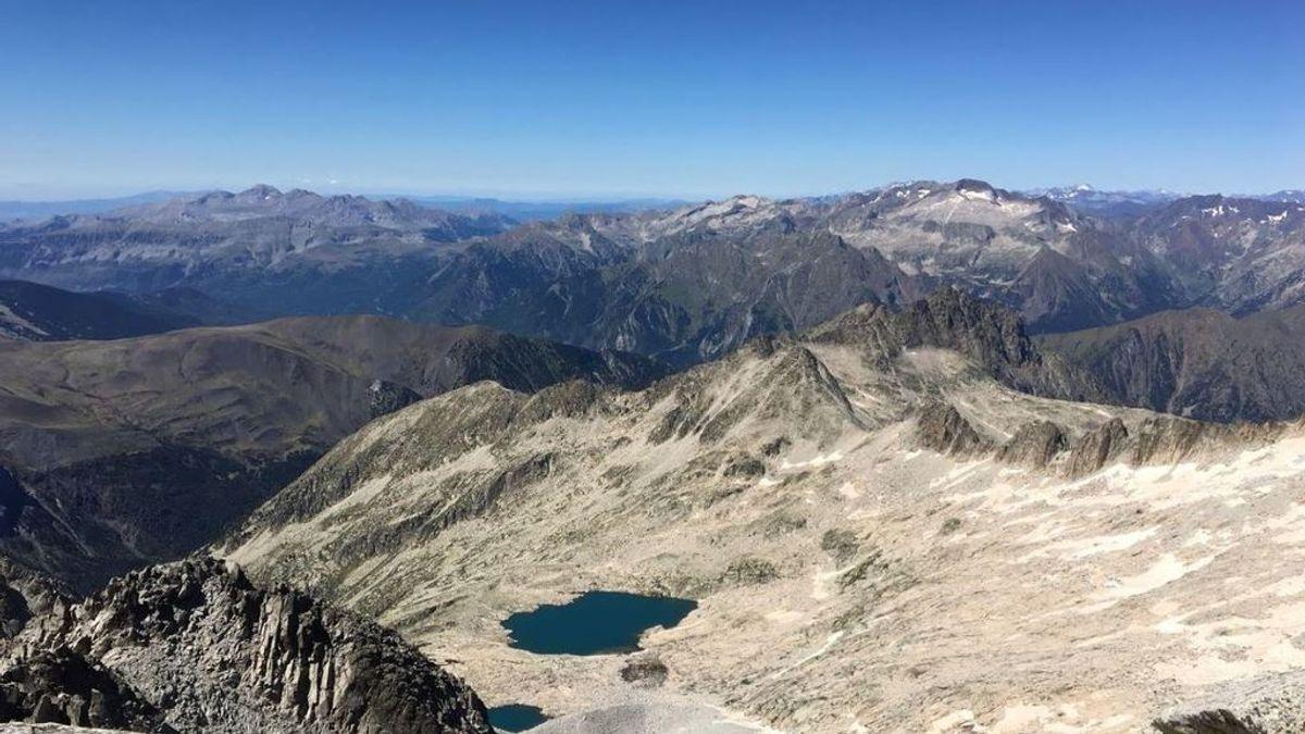 Muere una montañera durante una excursión cerca del pico Aneto: se precipitó desde más de 70 metros
