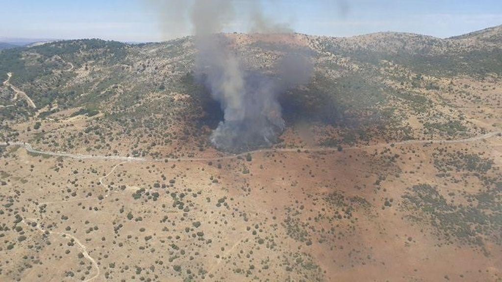 Incendio forestal en Robledo de Chavela
