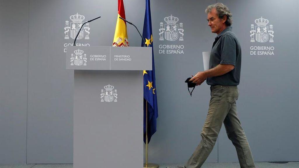 """Fernando Simón: """"El sistema asistencial no está bajo presión"""""""