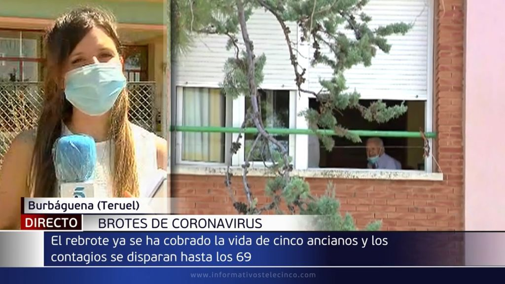 Preocupación por el aumento de los casos positivos en las residencias de mayores de Aragón