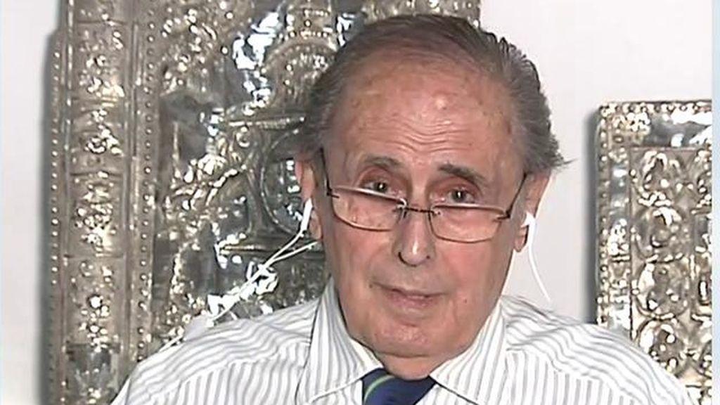 """Jaime Peñafiel, tras conocer que Juan Carlos I abandona España: """"Esto ha sido una triunfo de Sánchez, Iglesias y de la reina Letizia"""""""