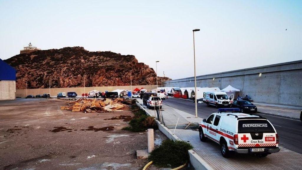 Se fugan otros 8 inmigrantes en cuarentena un día después de escapar  59 del mismo centro en Murcia
