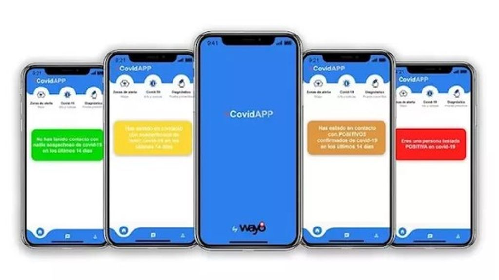 +CovidAPP, la nueva aplicación para rastrear  la cadena de contagios de coronavirus