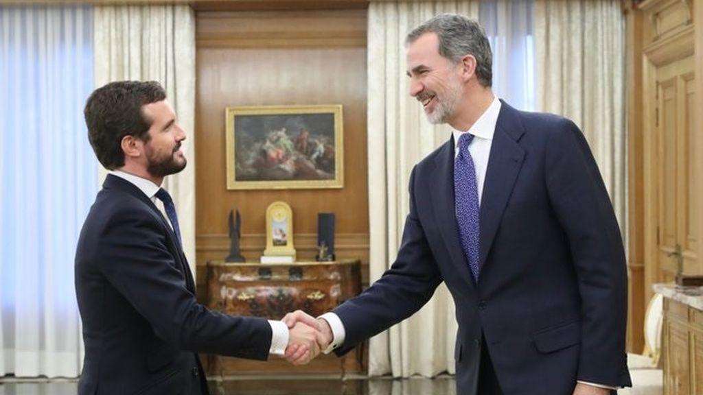 """PP y Ciudadanos coinciden en el """"respeto"""" a la decisión de Juan Carlos I y el """"apoyo"""" a Felipe VI"""