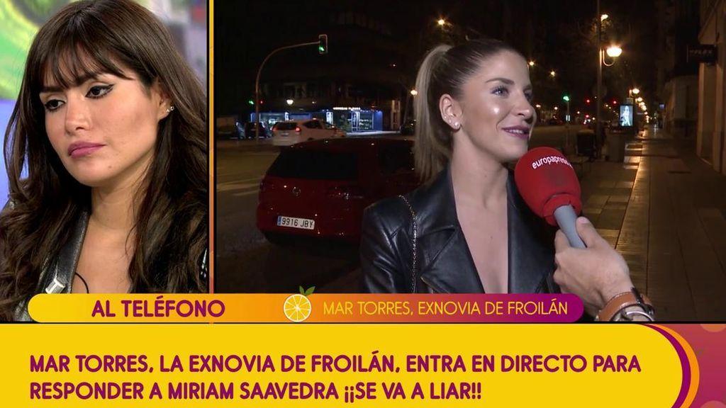 """La exnovia de Froilán interviene en directo en 'Sálvame': """"Ni yo ni mi ex la hemos visto en mi vida"""""""