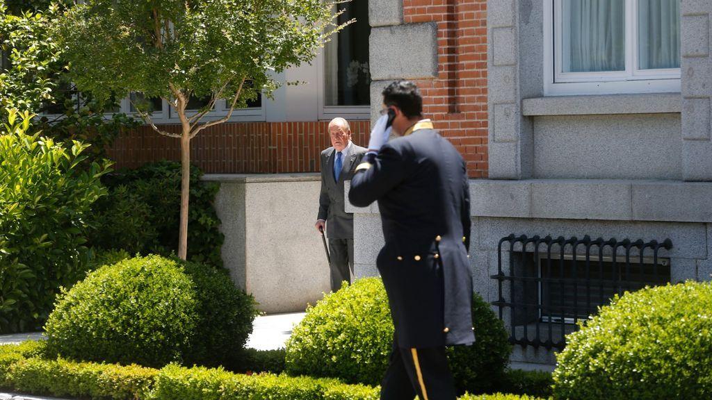 57 años después: el Rey Juan Carlos I abandona la Zarzuela