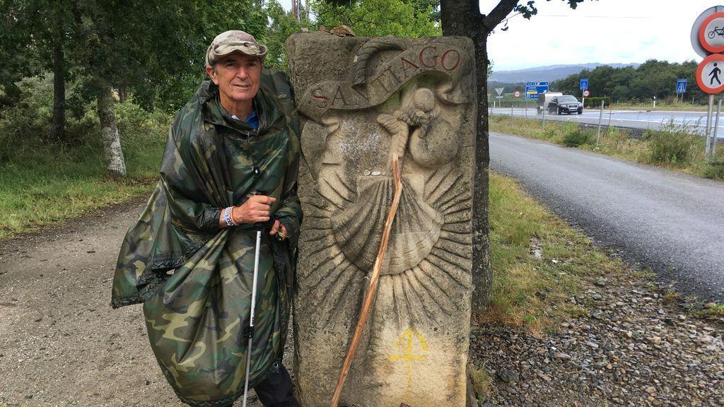 """José Antonio, 72 años y 43 caminos de Santiago extremos finalizados: """"El del covid ha sido el más triste"""""""