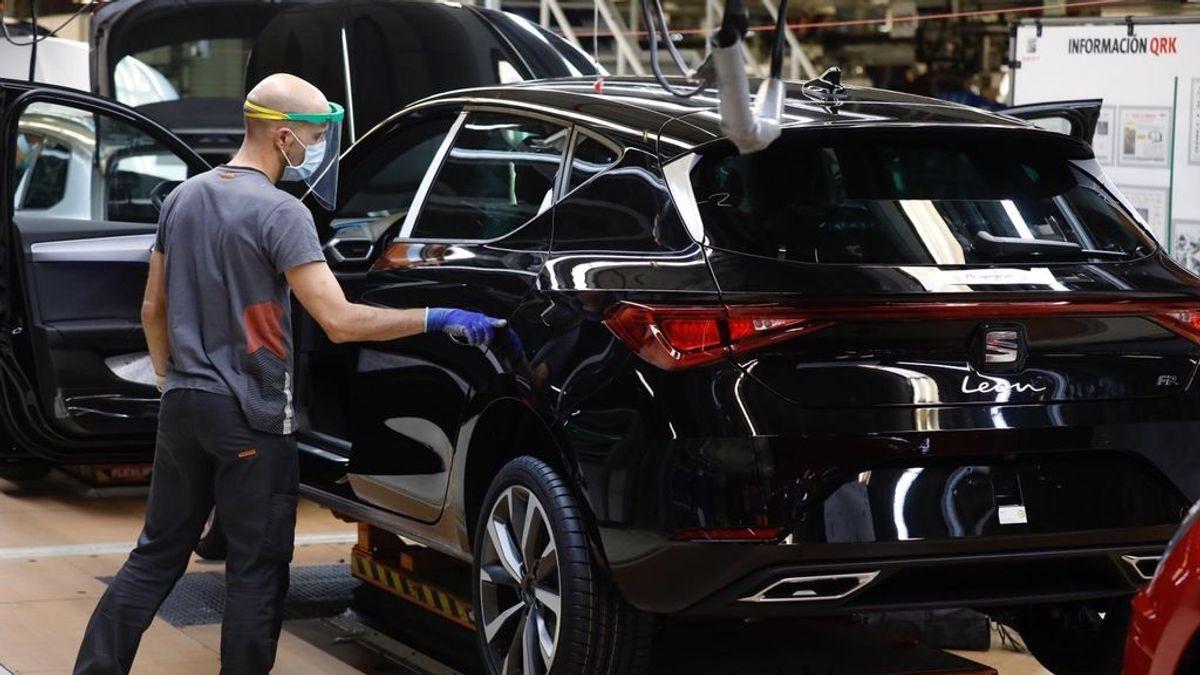La actividad manufacturera en España rebota en julio a máximos desde 2018