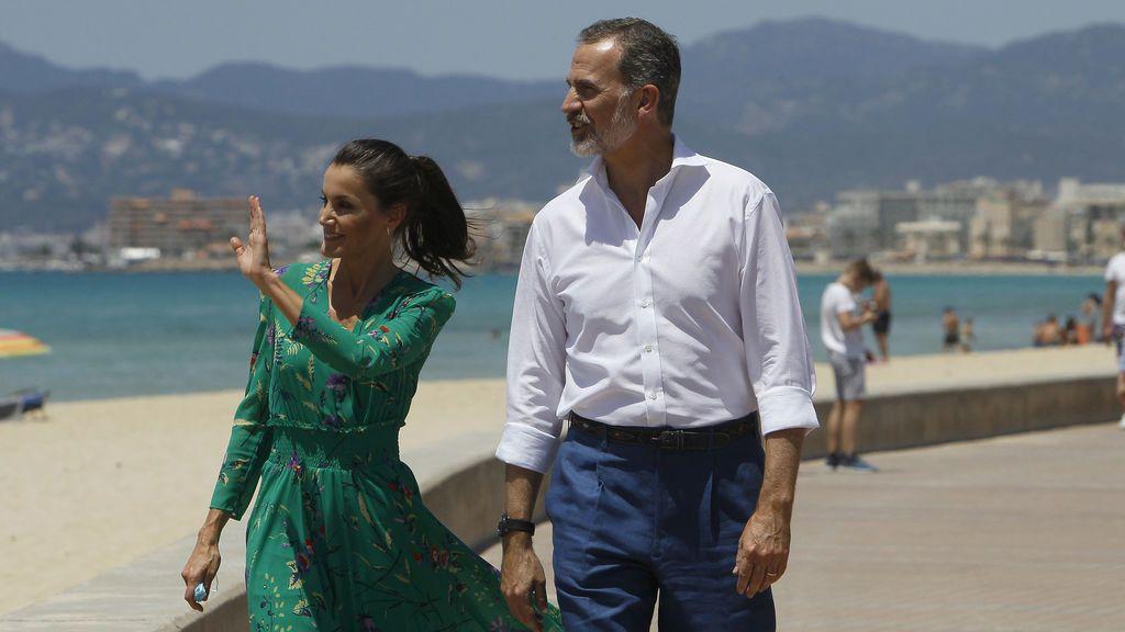 Los reyes viajarán este fin de semana a Palma pese a la decisión de Juan Carlos I