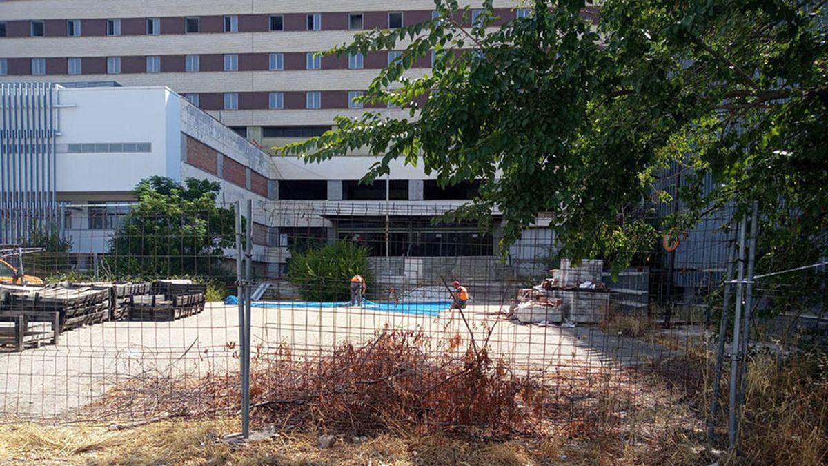 Cinco meses para convertir el Hospital Militar de Sevilla, en ruinas, en centro de referencia para la covid