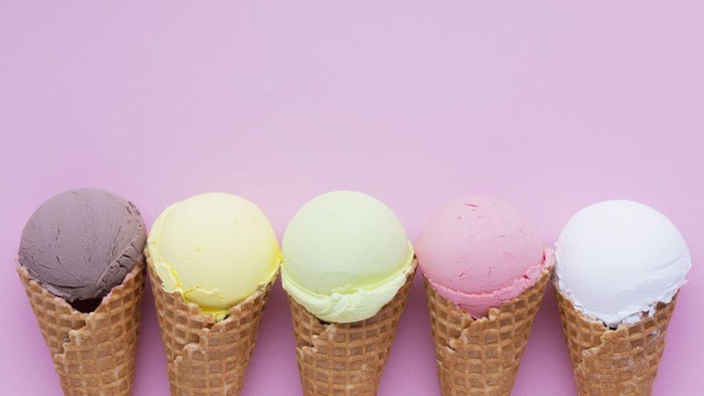Un reto difícil y refrescante: encuentra el 'chupa chups' entre todos los helados