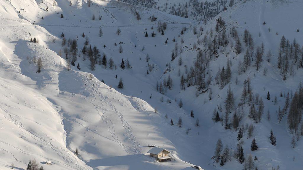 Nieve en Italia en agosto: un frío anómalo tiñe de blanco los Alpes