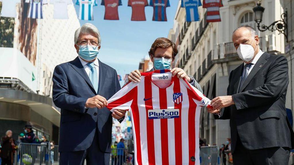 """Martínez-Almeida vuelve a demostrar su sentimiento rojiblanco: """"Si ganamos la Champions sería la alegría de mi vida"""""""