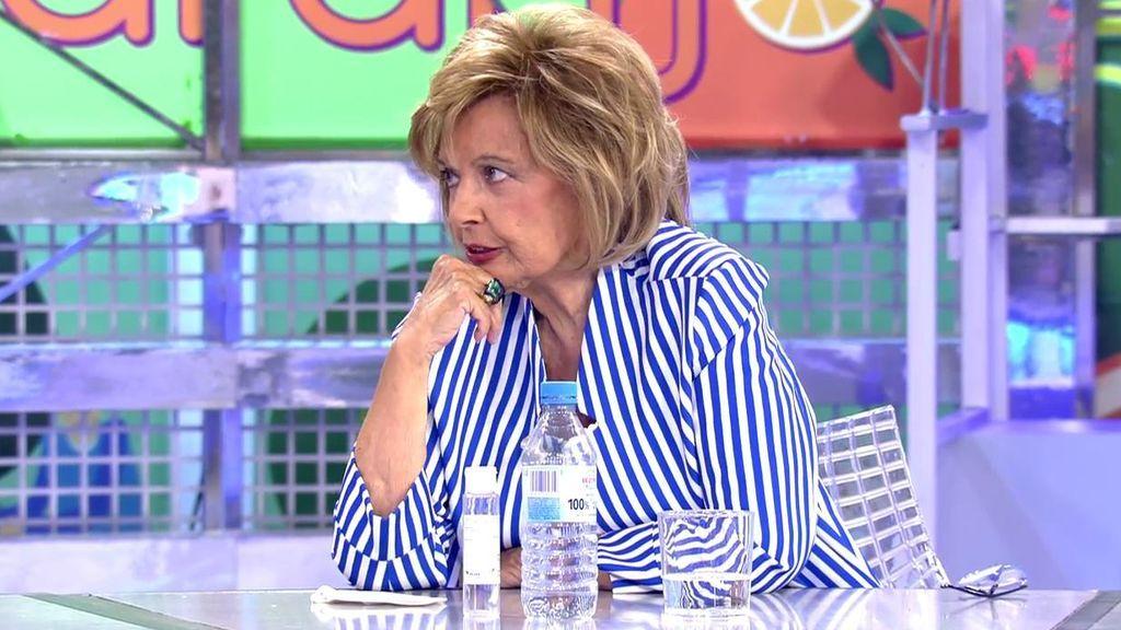 """María Teresa Campos critica un comentario de Iglesias sobre la república: """"Pablo, creo que se te ha ido la olla"""""""