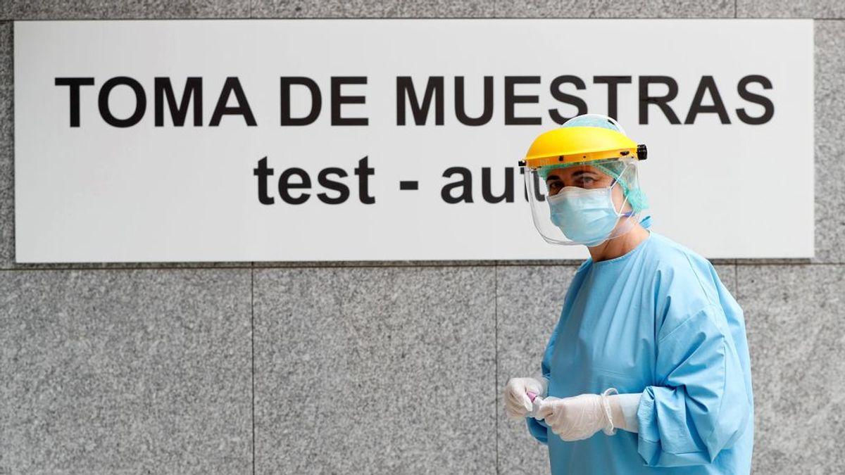 Contagios nuevos de coronavirus en España