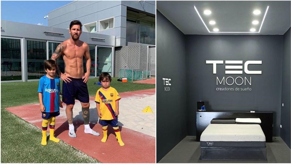 """El colchón anti-coronavirus que utiliza Messi en su casa de Barcelona: """"Lo neutraliza al 99%"""""""