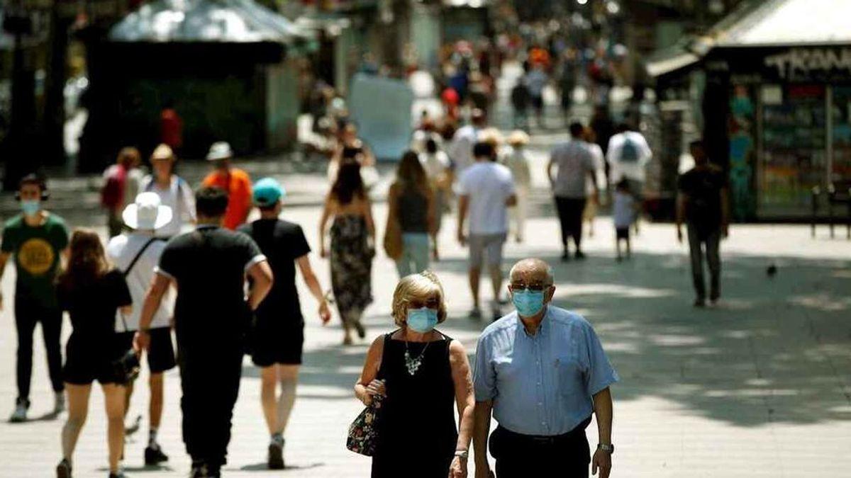España vuelve a rebasar el millar de contagios diarios: 1.178 nuevos casos en las últimas 24 horas