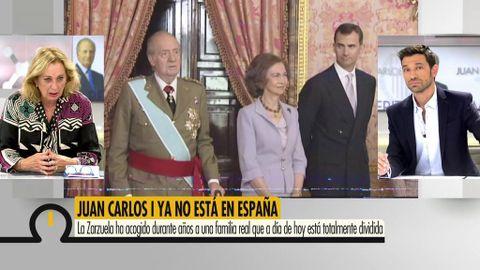 """Mariángel Alcázar asegura que el traslado del Rey emérito es un """"paréntesis"""""""