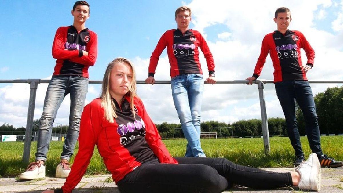 La Federación holandesa autoriza a una futbolista de 19 años a jugar con el equipo masculino