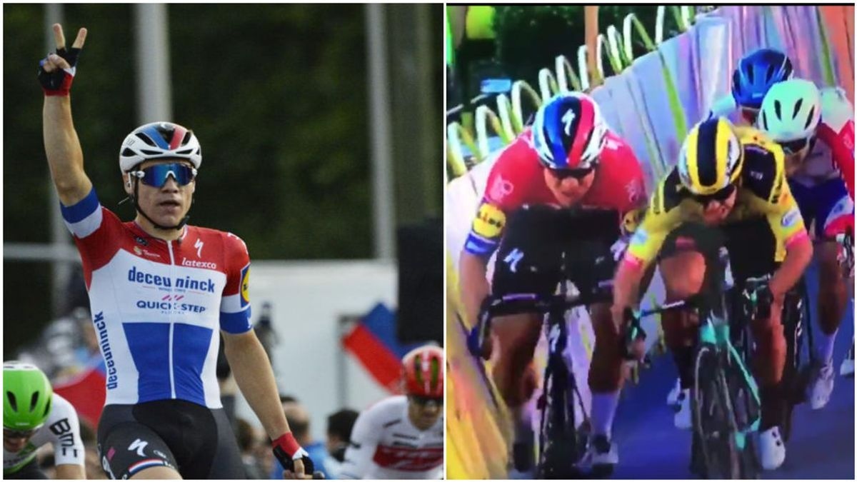 La terrorífica caída del ciclista Jakobsen en el Tour de Polonia que le ha llevado al coma inducido