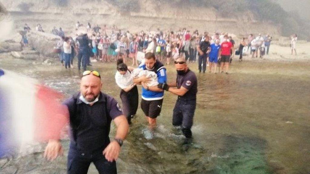 Más de 2.700 evacuados por un incendio en el sur de Francia