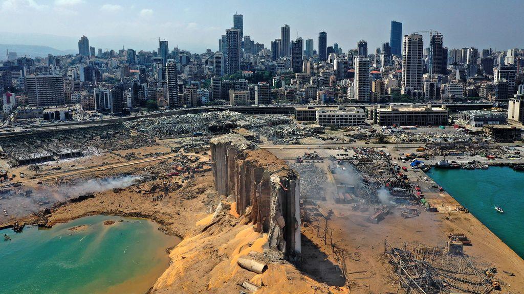 La devastación de Beirut, en imágenes