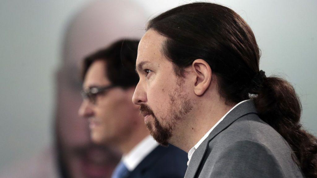 Pablo Iglesias renuncia a la coleta en su nuevo 'look'