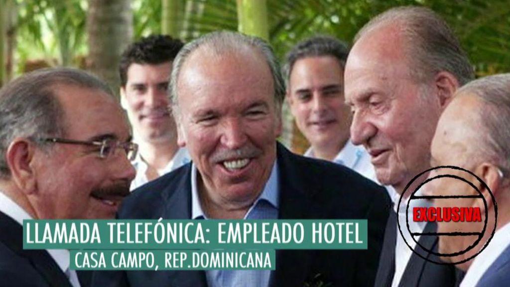 Un empleado del resort en el que podría estar Don Juan Carlos no desmiente la noticia