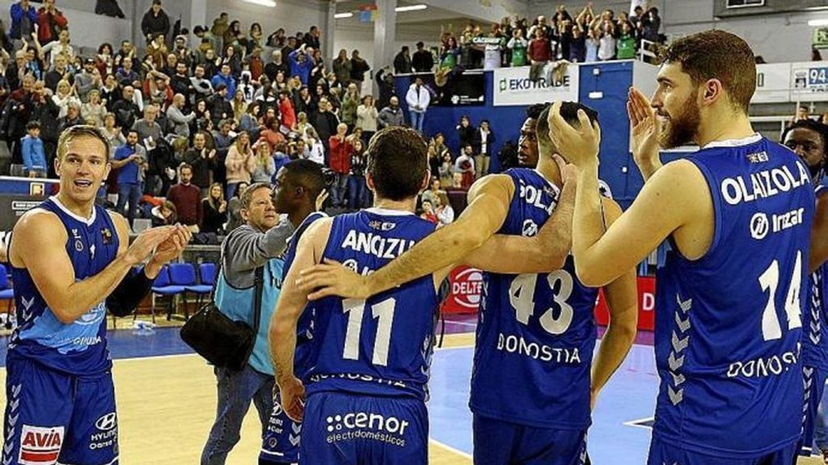 La ACB admite finalmente el ingreso del Delteco Gipuzkoa Basket
