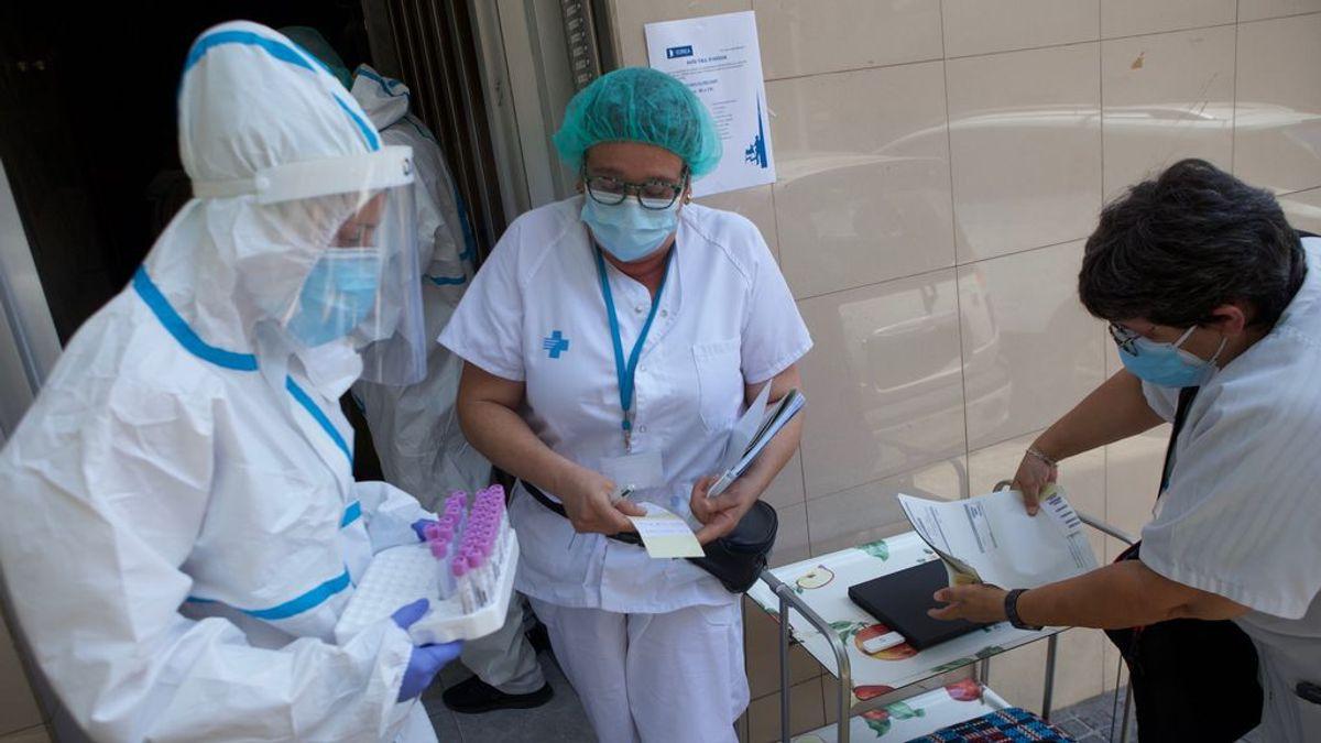 La curva de contagios se dispara: Sanidad informa de 1.772 nuevos casos, una gran subida de 600 frente a ayer