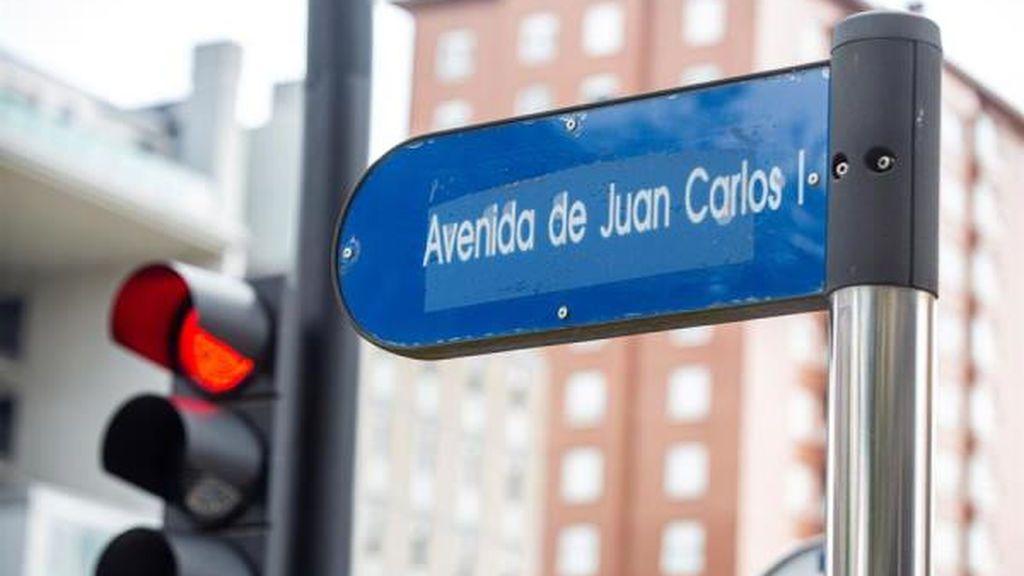 Vitoria, Gijón... Juan Carlos I pierde calles