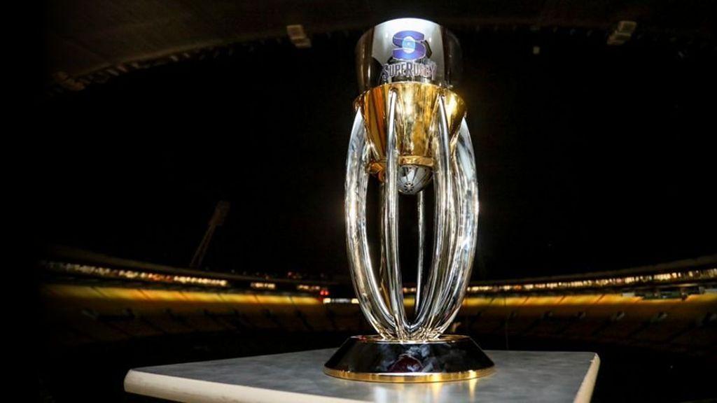 trofeo de la competición de Súper Rugby