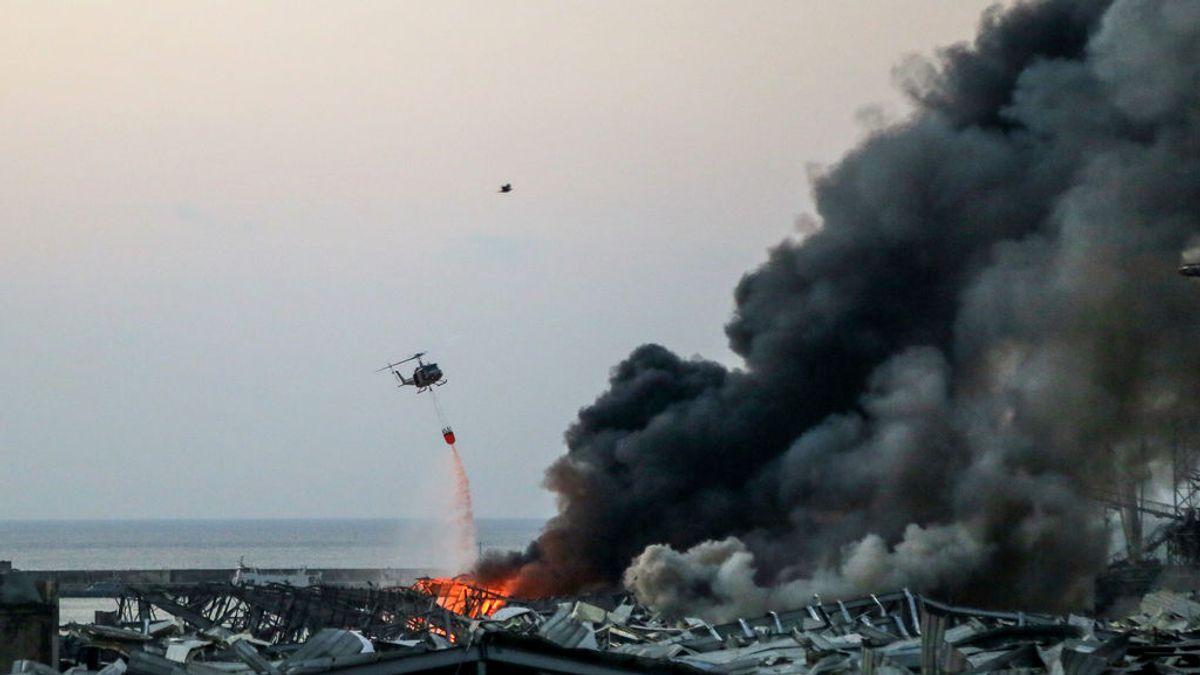 Los líderes mundiales se vuelcan con Beirut para ayudar a mitigar las consecuencias de la explosión