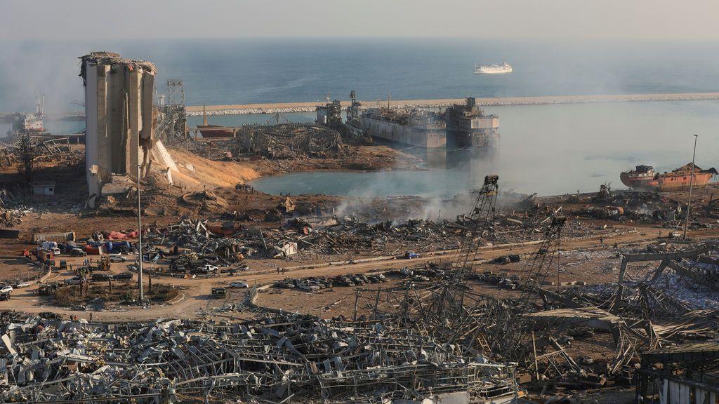 Aumenta el balance de fallecidos por la explosión en el puerto de Beirut:  100 muertos y unos unos 4.000 heridos