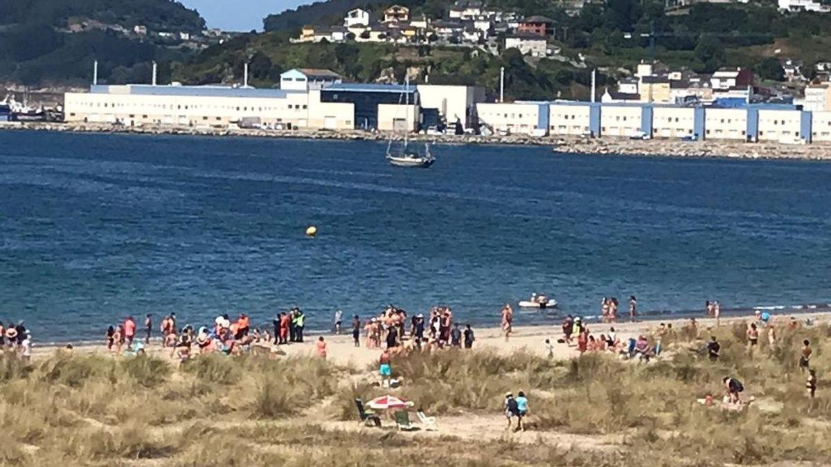 Fallece una mujer tras sufrir una indisposición en una playa de Viveiro, en Lugo