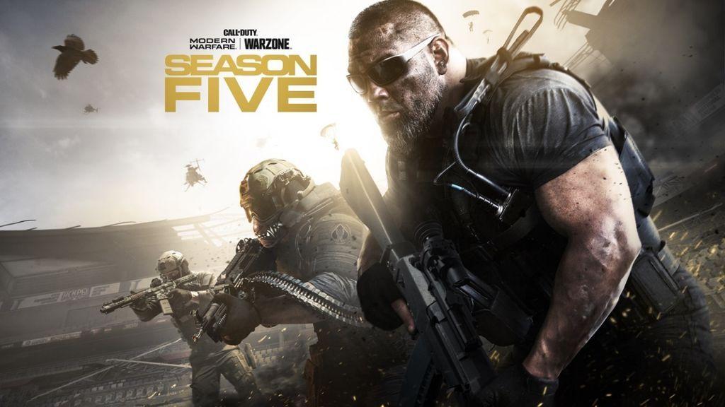 Call of Duty: Modern Warfare y Warzone: Temporada 5