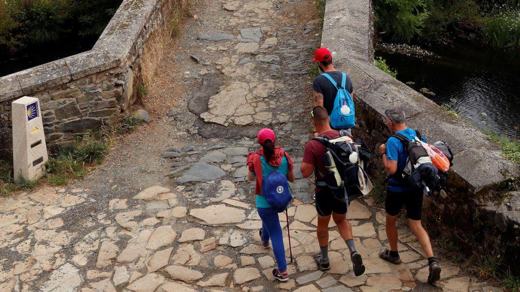 El Camino de Santiago, a medio gas: de recibir más de 2.000 peregrinos al día a menos de 500
