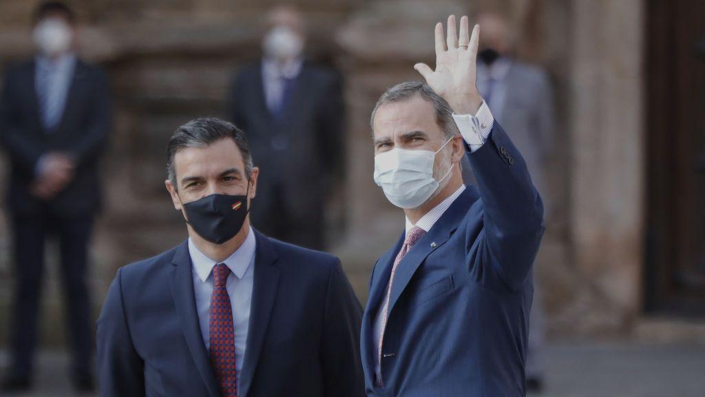 """Podemos intentará que Felipe VI explique en el Congreso la """"huida"""" del rey emérito"""